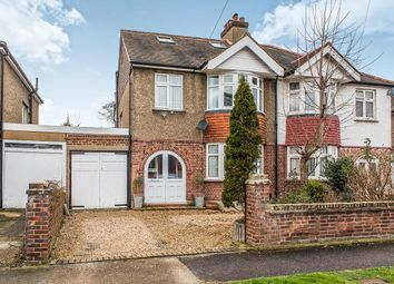 Thumbnail 4 bed semi-detached house for sale in Oakleigh Avenue, Tolworth, Surbiton