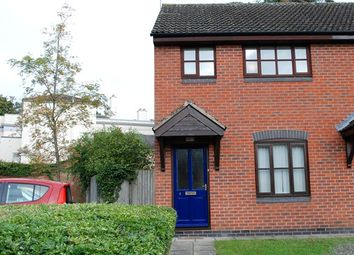 Thumbnail 2 bed semi-detached house for sale in 4 Wheeler Close, Lutterworth, Leicester, Leicestershire