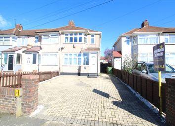 Wellan Close, Blackfen, Kent DA15. 3 bed end terrace house for sale