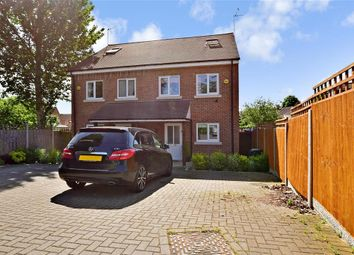 Thumbnail 3 bed semi-detached house for sale in North Hill Drive, Romford, Essex