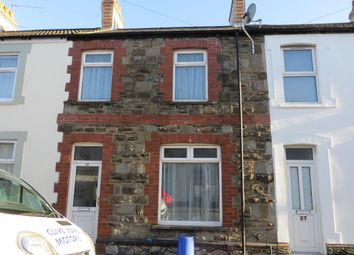Thumbnail 3 bed terraced house to rent in Bradley Street, Cardiff