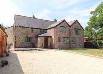 Thumbnail 5 bed detached house for sale in Gwernesney, Usk