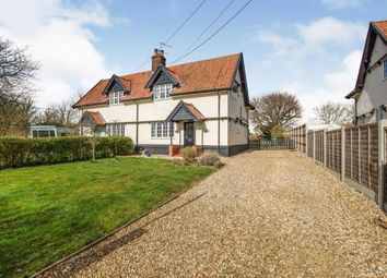 Thumbnail 2 bed semi-detached house for sale in Lopham Road, East Harling, Norfolk