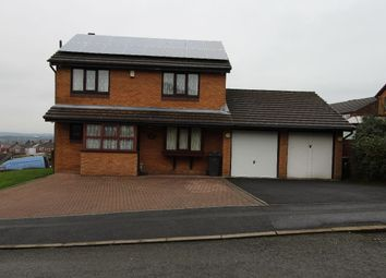 Thumbnail 4 bedroom detached house to rent in Highfield Drive, Royton, Oldham