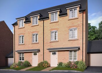 "Thumbnail 4 bed semi-detached house for sale in ""The Barrington"" at Bedford Road, Great Barford, Bedford"