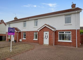 Thumbnail 3 bedroom semi-detached house for sale in Rathgill Crescent, Bangor