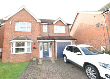 Thumbnail 4 bed detached house for sale in Oak Drive, Messingham, Scunthorpe