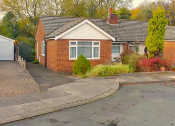 Thumbnail 2 bed semi-detached bungalow for sale in Clevedon Close, Macclesfield