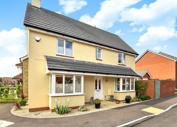 Thumbnail 3 bed detached house for sale in Charlesby Drive, Watchfield, Swindon