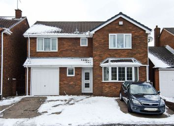 Thumbnail 4 bed detached house for sale in Chaplain Road, Cannock
