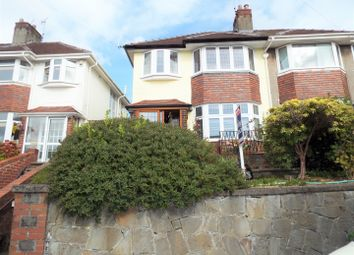 Thumbnail 3 bed semi-detached house for sale in 34 Hazel Road, Uplands, Swansea