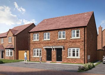 Thumbnail 2 bed semi-detached house for sale in Upton Snodsbury Road, Pinvin, Worcestershire