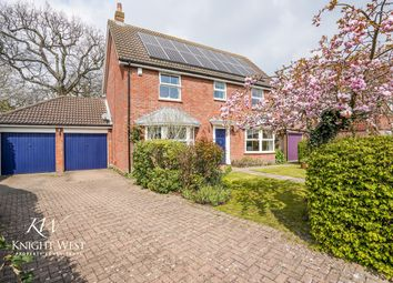 Thumbnail 4 bed detached house for sale in Langham Place, Highwoods, Colchester