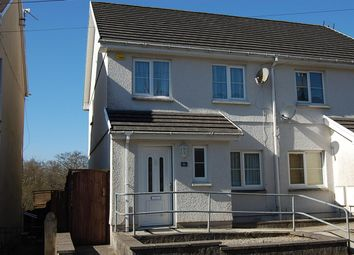 Thumbnail 3 bed semi-detached house to rent in Tirycoed Road, Glanamman, Ammanford