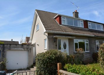 Thumbnail 2 bed semi-detached house for sale in Cherrywood Road, Worle, Weston-Super-Mare