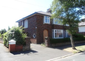 Thumbnail 3 bed semi-detached house for sale in Hall Road, Fulwood, Preston