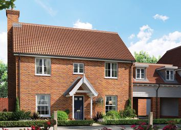 Thumbnail 4 bed link-detached house for sale in The Geranium, Station Road, Framlingham, Suffolk