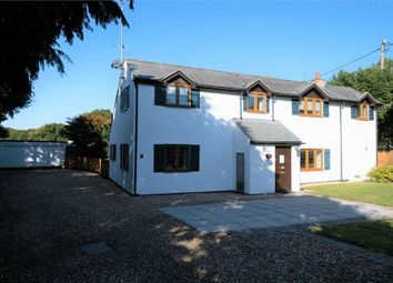 4 bed detached house for sale in West Moors Road, Three Legged Cross, Wimborne, Dorset BH21