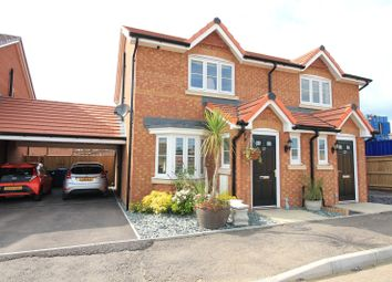 Thumbnail 3 bed semi-detached house for sale in Larch End, Minster On Sea, Sheerness