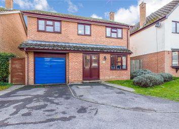 Thumbnail 4 bed detached house for sale in Highworth Way, Tilehurst, Reading