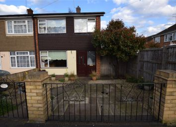 Thumbnail 3 bed end terrace house for sale in Navarre Gardens, Collier Row, Essex