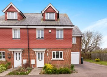 Thumbnail 4 bedroom semi-detached house for sale in Nazareth Close, Bexhill-On-Sea