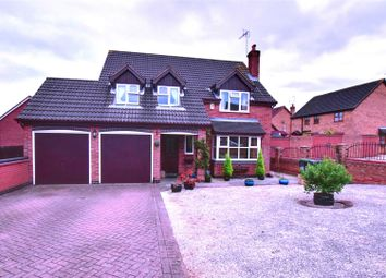 Thumbnail 4 bed detached house for sale in Gunnersbury Way, Nuthall, Nottingham, Nottinghamshire