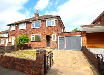 Thumbnail 3 bed semi-detached house for sale in Kingsway North, Braunstone, Leicester