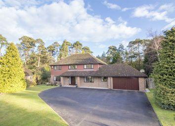 Thumbnail 5 bed detached house for sale in Kestrel Close, Ewshot, Farnham