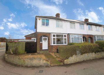 Thumbnail 3 bed end terrace house for sale in Oak Road, Shortstown, Bedford