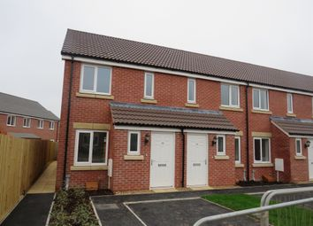 Thumbnail 2 bed end terrace house for sale in Heathfield Gardens, Bathpool, Taunton