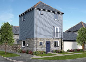 Thumbnail 4 bed link-detached house for sale in Park An Daras, Falmouth Road, Helston, Cornwall