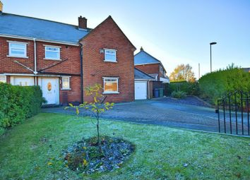 Thumbnail 3 bedroom semi-detached house for sale in Dilston Drive, Westerhope, Newcastle Upon Tyne