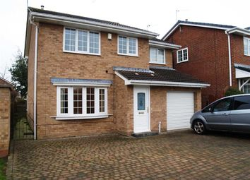 Thumbnail 4 bed detached house to rent in Simpson Court, Ashington