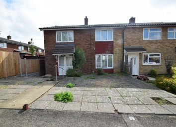 Thumbnail 4 bed end terrace house for sale in Harvey Road, Stevenage, Hertfordshire