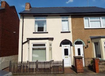 Thumbnail 3 bed semi-detached house for sale in Allcroft Street, Mansfield Woodhouse, Mansfield, Nottinghamshire