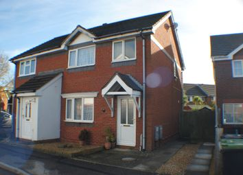 Thumbnail 3 bed semi-detached house for sale in Wolf Close, Christchurch