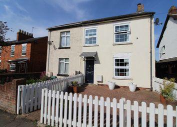Thumbnail 2 bed semi-detached house for sale in High Street, Hanslope, Milton Keynes, Buckinghamshire