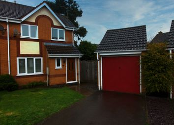 Thumbnail 3 bed semi-detached house for sale in Harvest Way, Broughton Astley, Leicester