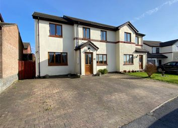 Thumbnail 3 bed semi-detached house for sale in Conway Drive, Steynton, Milford Haven