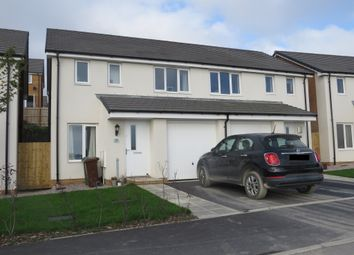 Thumbnail 3 bed semi-detached house for sale in Sandpiper Road, Derriford, Plymouth