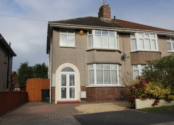 Thumbnail 3 bedroom semi-detached house to rent in Grittleton Road, Horfield, Bristol