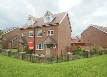 Thumbnail 4 bedroom town house for sale in Welch Walk, Buckshaw Village, Chorley