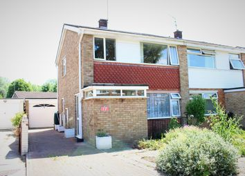 Thumbnail 3 bedroom semi-detached house for sale in Gantlettdene, Swindon
