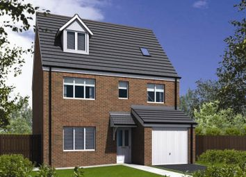 "Thumbnail 5 bed town house for sale in ""Barrington"" at Chancery Fields, Chorley"