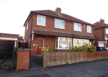 Thumbnail 3 bed semi-detached house for sale in Bembridge Road, Leicester, Leicestershire