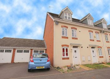 Thumbnail 4 bed town house for sale in Rough Brook Road, Rushall, Walsall