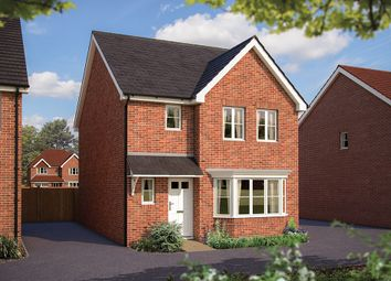 "Thumbnail 3 bed detached house for sale in ""The Epsom"" at Hyde End Road, Shinfield, Reading"