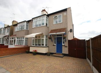 Thumbnail 3 bedroom semi-detached house for sale in Arnold Avenue, Southend-On-Sea