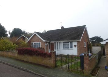 Thumbnail 3 bedroom detached bungalow for sale in Ashmere Rise, Sudbury